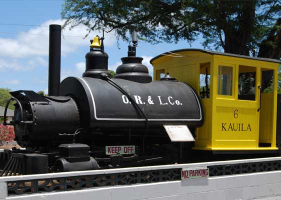 Image of Steam Locomotive Kauila 6