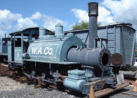 Image of Steam Locomotive WACo 6